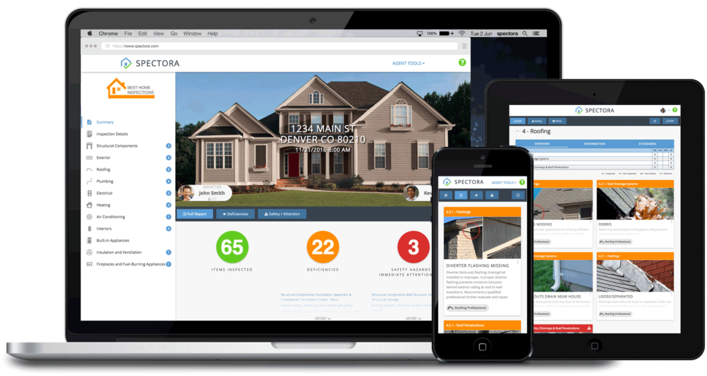 Sitecheck Home Inspections, Long Island, New York Spectora Report